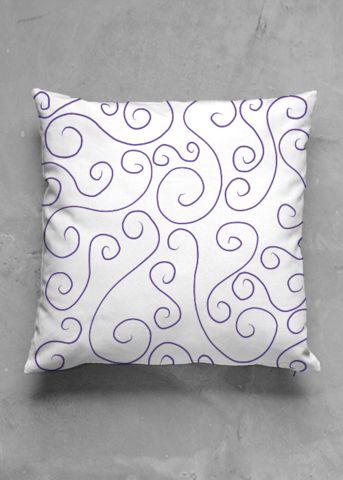 Spiral Ocean - luxury pillow design by Charles Bridge 7x - buy in my VIDA e-shop    #luxurious#pillow#interior#interiordecor#art#artprint#fabricprint#sofa#spring#ocean#oceaninspiration#waves#water#waterart#artist