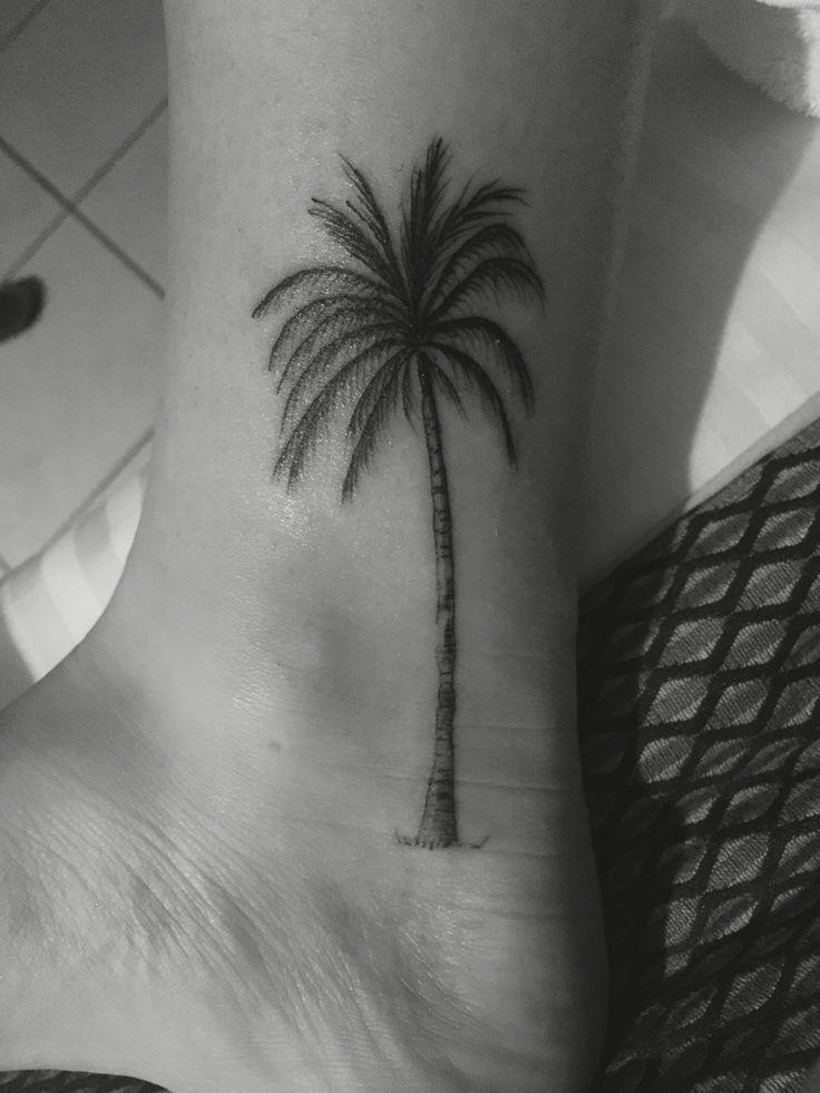 Palm tree tattoo - Airlie beach, Qld, Australia                                                                                                                                                     More
