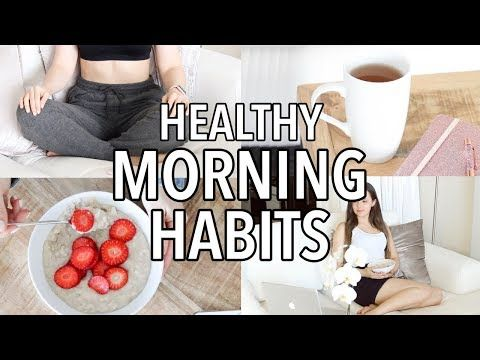 How To Build Healthy Habits For Weight Loss : 10 Easy Healthy Morning Routine Habits to Try!