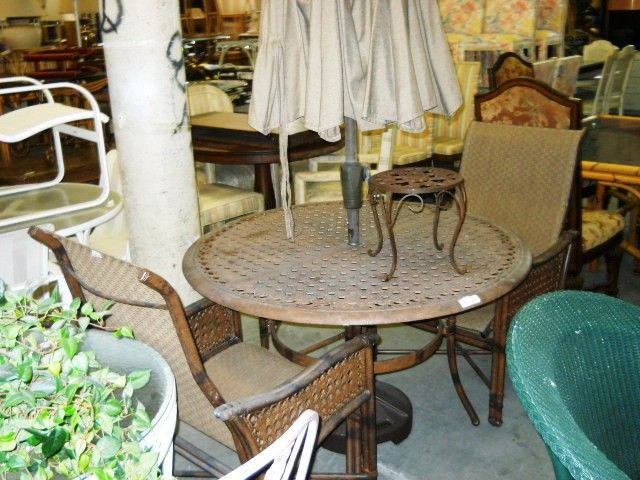 outdoor furniture boca raton florida. castille out door set, located in boca raton, florida. www.pastperfectconsignment. outdoor furniture raton florida