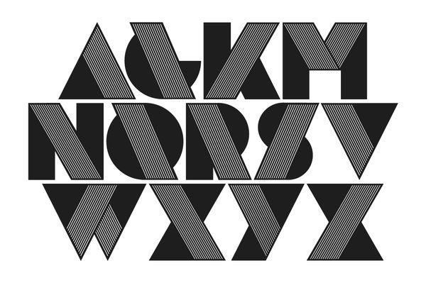 New York Typeface. by Mario Almaraz, via Behance