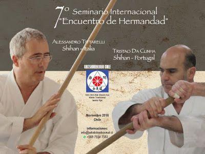 Aikido  Mendoza Iwama : Seminario internacional Aikido Iwama - Chile -2016...