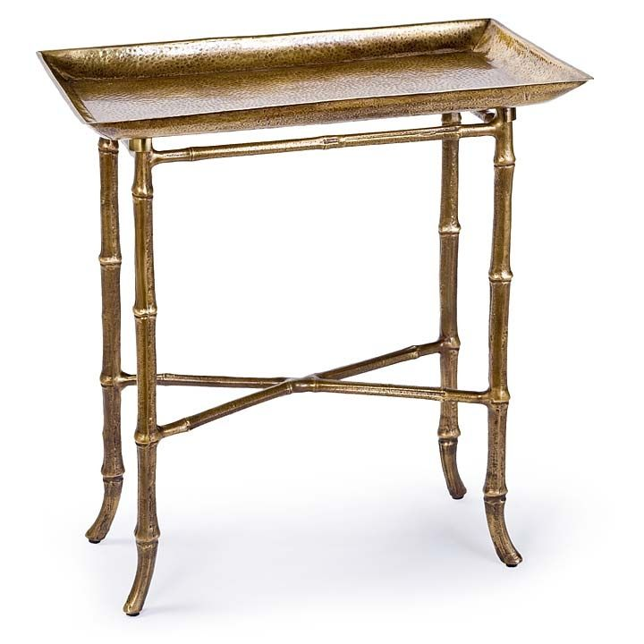 We Have A Lot Of New And Exciting Accessories, Lamps, And Accent Tables  Coming To Cerulean Shortly! Including This Sweet Antique Brass Bamboo Tray  Table, ...
