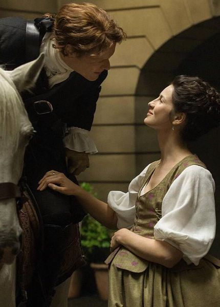 Outlander Season 2 Jamie and Claire one of my favorite pictures of Claire and Jamie