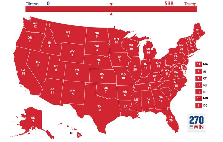 Check out this 2016 election forecast via @270toWin http://www.270towin.com/maps/BOxyb #2016election