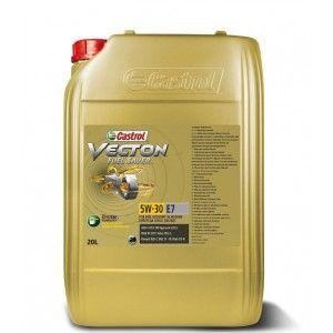 Моторное масло Castrol Vecton Fuel Saver 5W-30 E7 синтетическое, 20 л