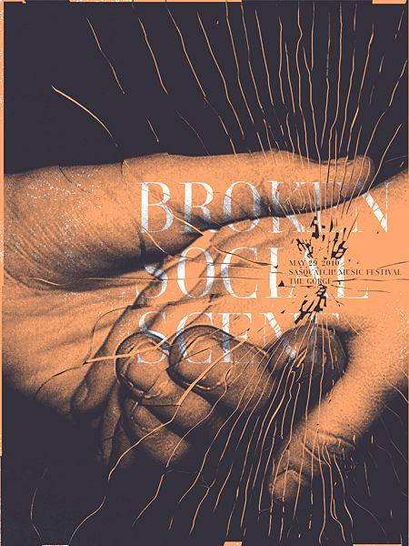Broken Social Scene Concert Poster