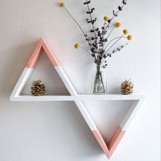 #decor #nicho #triangulo