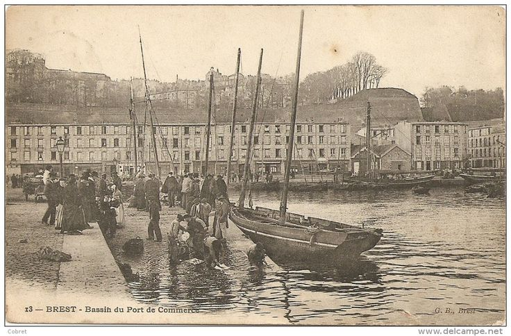 9 best brest france during the wwii images on pinterest brittany the germans and wwii - Restaurant port de commerce brest ...