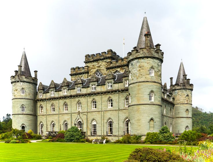 Inveraray Castle, Inveraray, Argyle, Scotland. 28th August 2015
