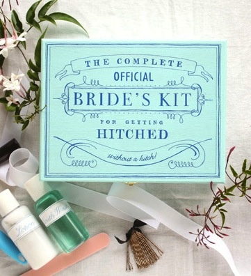 The complete official bride's kit for getting hitched