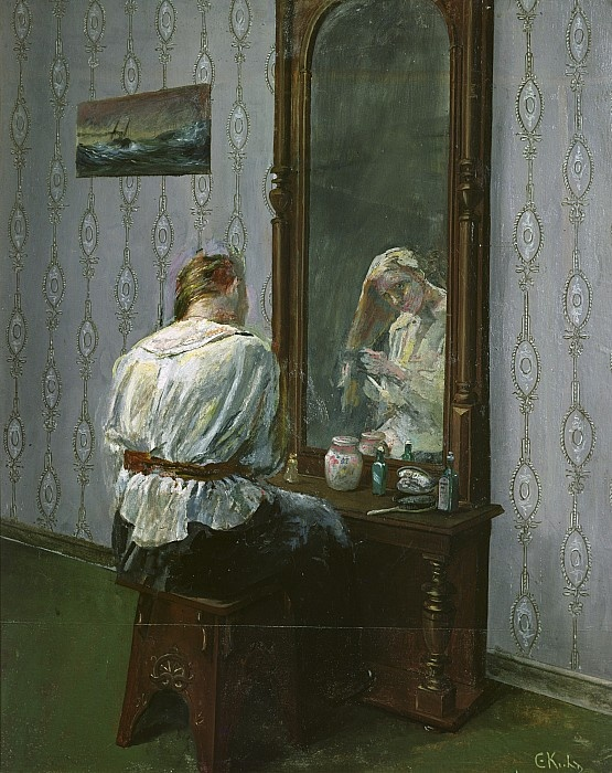 Christian Krohg 1852-1925: In Front of the Mirror