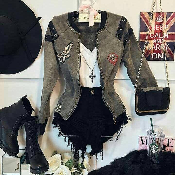 Linda chaqueta