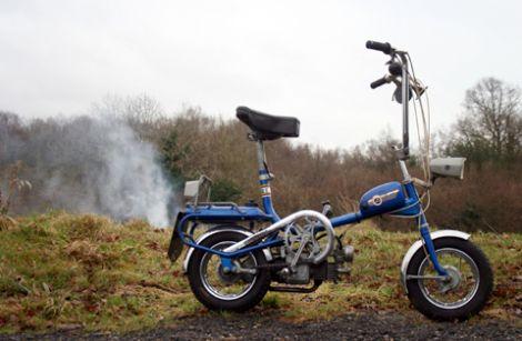 Garelli Mosquito baby aka honda st70 bike version