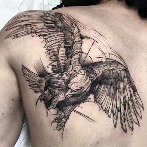 O blackwork do Fredão Oliveira é fantástico e extremamente criativo. Surpreenda-se.
