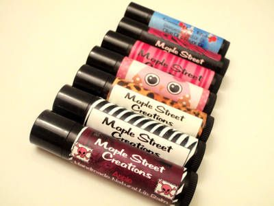 How to make your own customized lip balm labels! Step by step instructions. :)