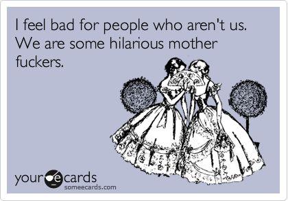 Haha, me and my fraaannnddss. @Megan Ward Flynn @Kayla Barkett Pittman