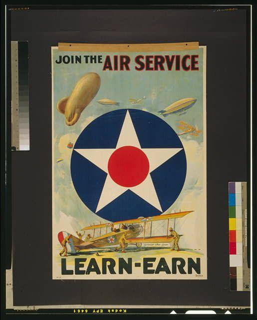 Join the Air Service Learn - earn.