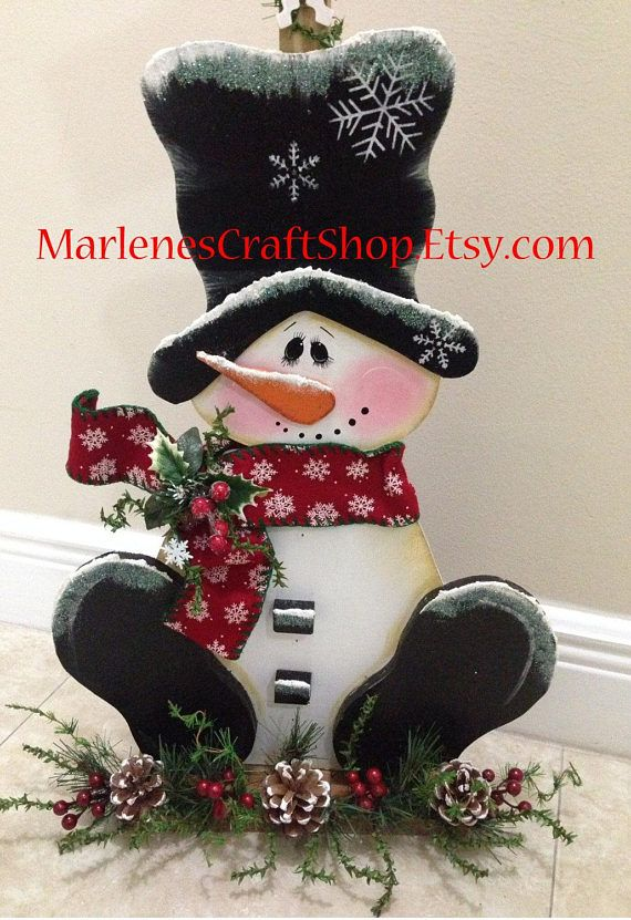 Hey, I found this really awesome Etsy listing at https://www.etsy.com/listing/541967891/snowman-decoration-let-it-snow-snowman