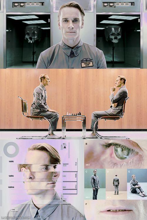Michael Fassbender - David 8 #prometheus