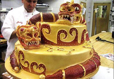 Cake Boss - dragon cake