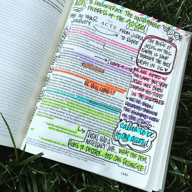 Well, thanks to some help from @shelbymaryann I took the plunge and started the @soulscripts approach to bible journaling with an empty bible I've had sitting on my shelf for a while. Truth be told, it's kinda exactly what I was needing. An excuse to get deeper, to dive further into truth rather than looking for a prompt to paint. I never want my study to be in vain, or to fall flat. Here's to filling another bible with nothing but highlighter and scribbles.  #illustratedfaith…
