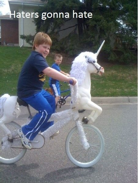 """Wer wünscht sich nicht ein so """"cooles"""" Fahrrad?"""