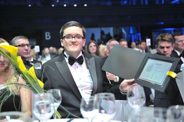 Krystian Piećko, piLAB. EY Entrepreneur Of The Year 2013 Poland