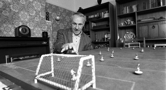 How cool was Subbuteo. Shankly's Subbuteo skills from FIFA.com site
