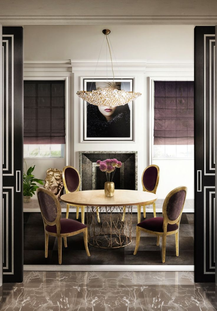 10 Gorgeous Design Pieces To Create The Perfect Dining Room Part 25