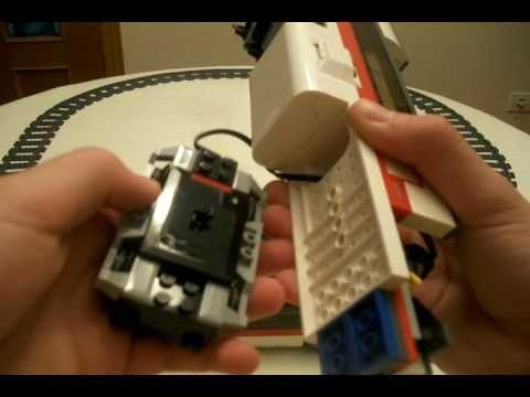 LEGO 7897 Passenger Train Review - YouTube