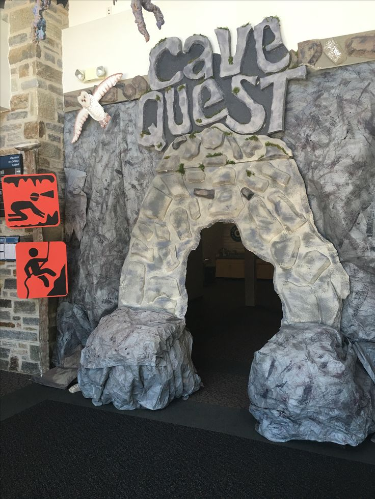 Cave Quest VBS Decor