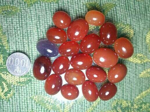 Baturaja Red Chalcedony
