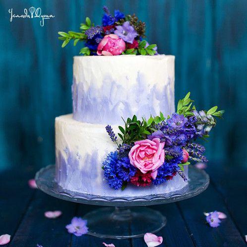Картинки по запросу торты с цветами (с изображениями ...