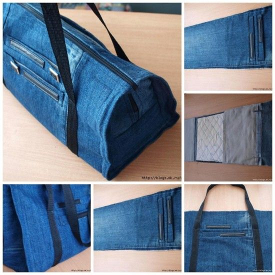 Make a Bag Out of Jeans