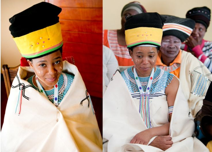 Xhosa bride from South Africa
