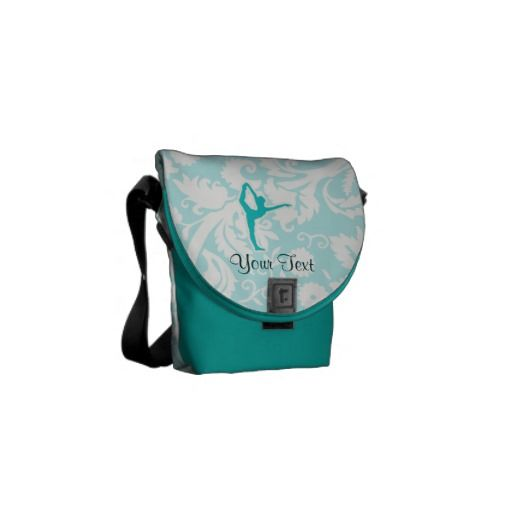 Teal Ballet Courier Bags