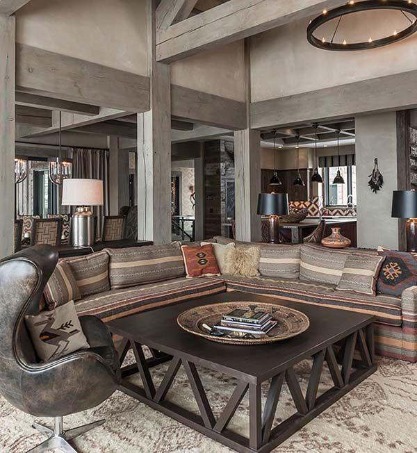 Modern Rustic Interior Design: Best 20+ Rustic Interiors Ideas On Pinterest