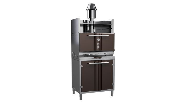 Charcoal oven φούρνος κάρβουνου για γρήγορο ψήσιμο φούρνοι με κάρβουνο Σπύρος Σκοπελίτης 6936112276