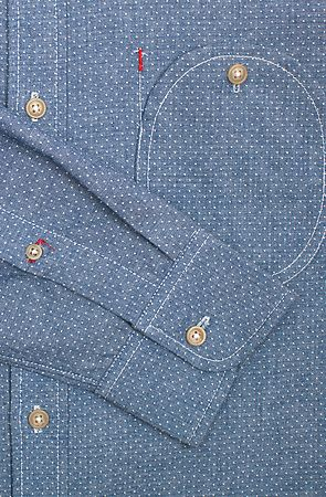 .Pocket Detail. Great with a spot of red stitching here and there. Beautifully…