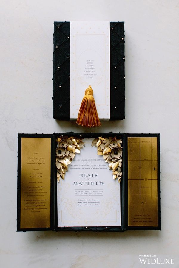 Invitations | Love, Balmain: An Ode to Olivier Rousteing's Opulent Designs for the Fashion House | WedLuxe