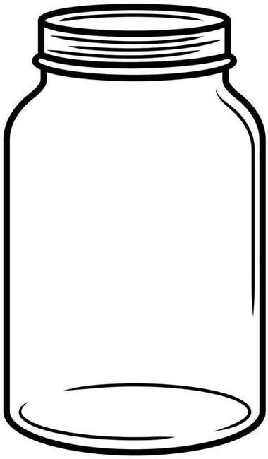 Decisive image for printable mason jar