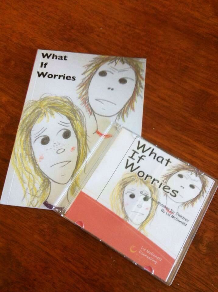 What If Worries book & CD