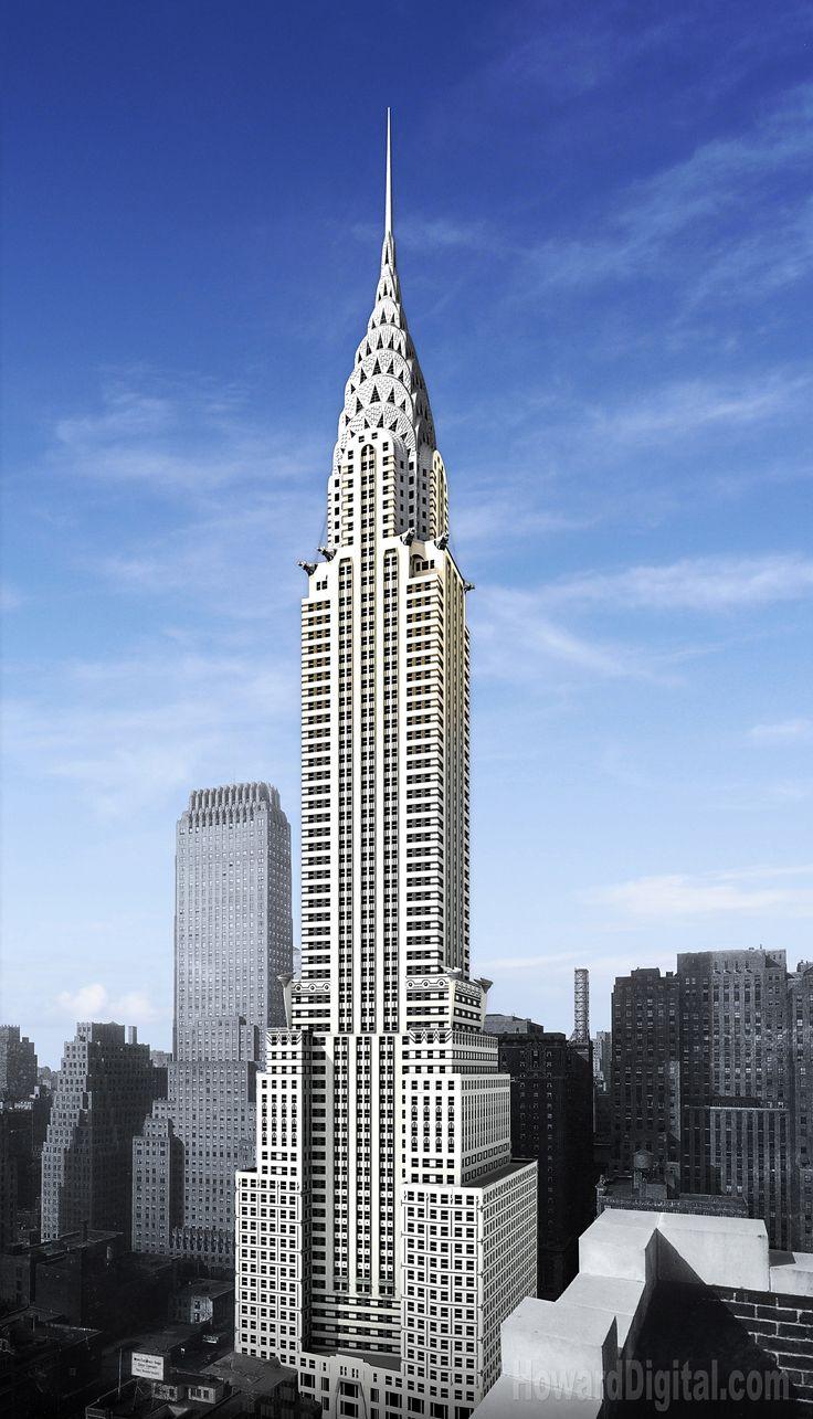 Nyc buildings new york chrysler manhattan new york for New york architettura contemporanea