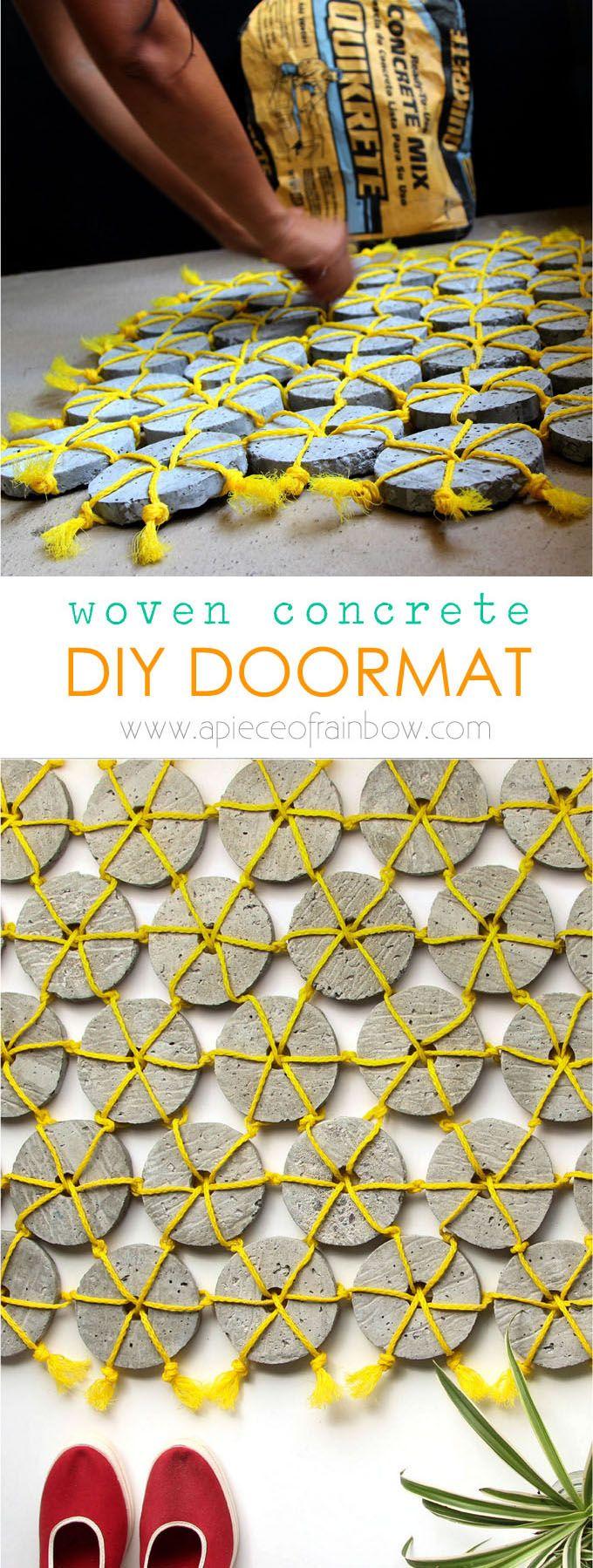 DIY Woven Concrete Doormat - Page 2 of 2