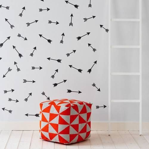 wall stickers, decal, arrow, kids stickers