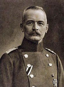 Erich von Falkenhayn (11 September 1861 – 8 April 1922) was a German soldier and Chief of the General Staff during the first two years of World War I. He became a military writer after World War I.