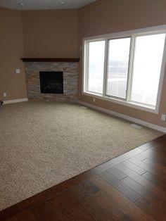 carpet living room hardwood hallway - Google Search