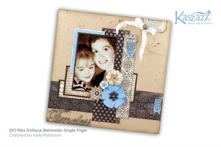 2H1906s Antique Memories Single Page