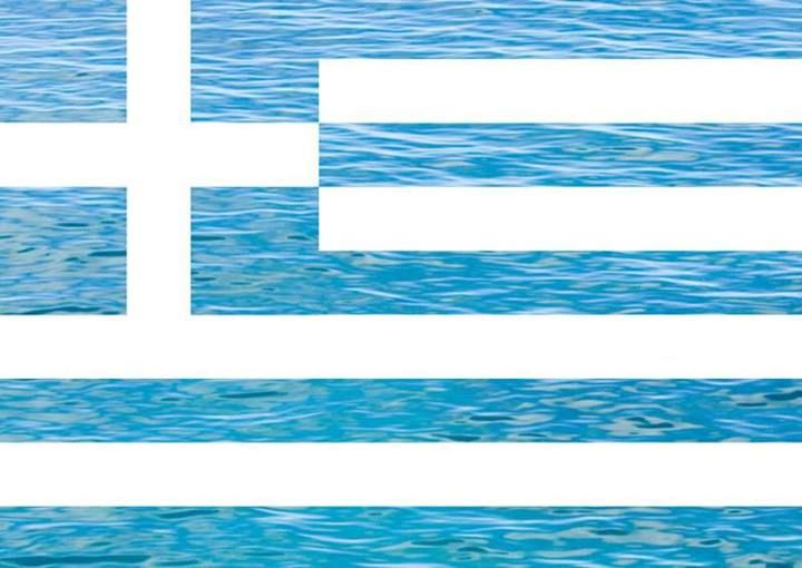 Greek flag, it represents them in their own way.